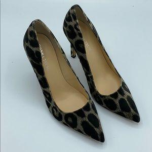 Ivanka Trump Carra Leopard Cheetah Pump